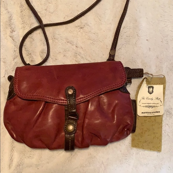 unique design preview of hot product Aunts & Uncles crossbody and wristlet NWT